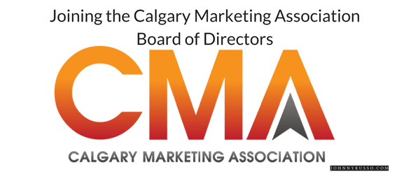 Joining the Calgary Marketing Association Board of Directors